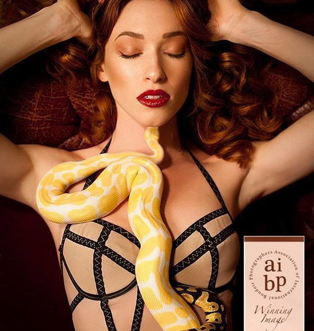 Hot off the Press: Winning Image Award from The Association of International Boudoir Photographers