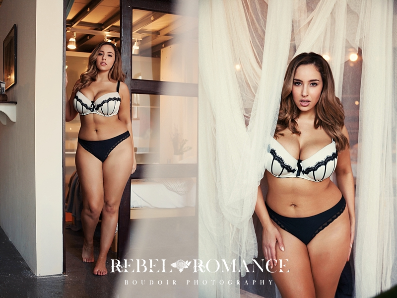 New York City Boudoir Photographer Plus Size Lingerie_031