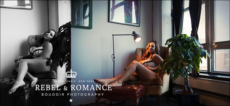 Rebel & Romance Boudoir Photography Plus Size NYC_0008