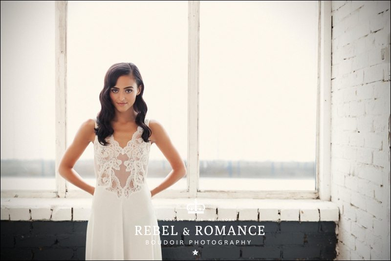 Chloe: a Spanish Bridal Boudoir theme in the warehouse