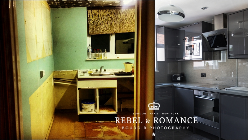 Behind the Scenes: The studio kitchen is DONE