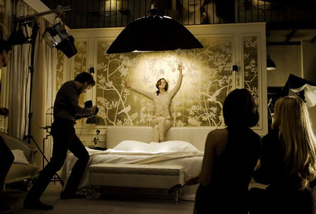 Boudoir Inspiration: taking a cue from fragrance commercials