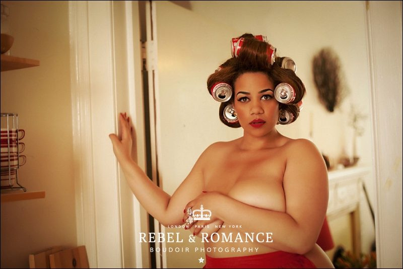 Rebel & Romance London Plus Size Boudoir Photography_0006