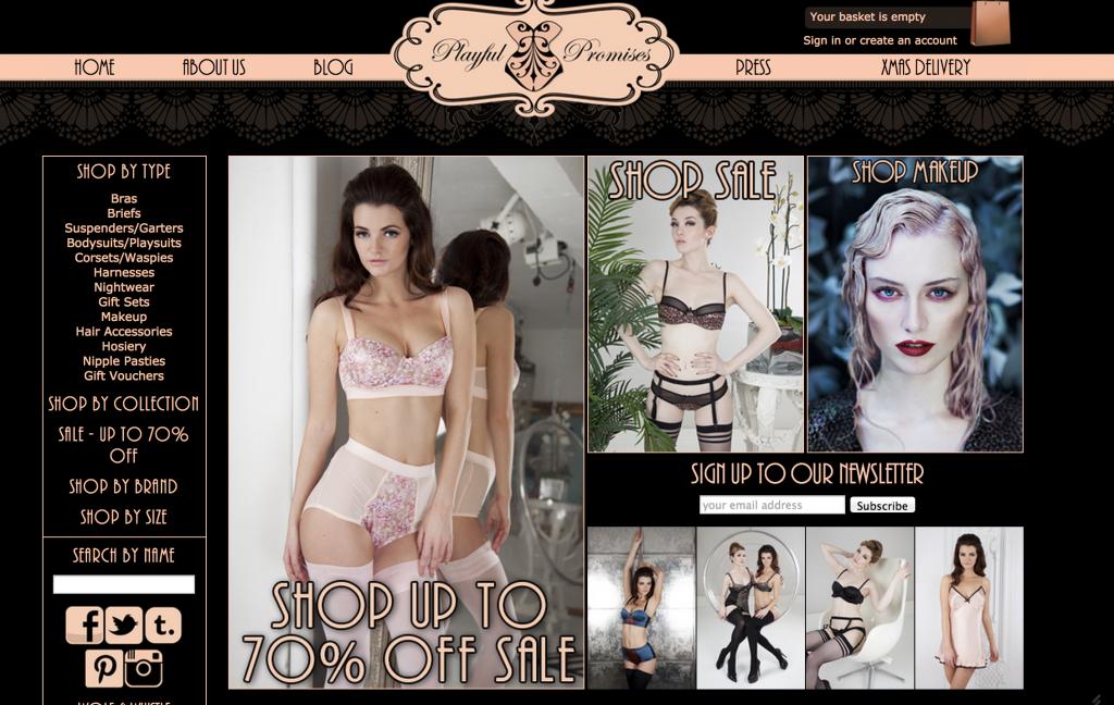 playful promises lingerie sale