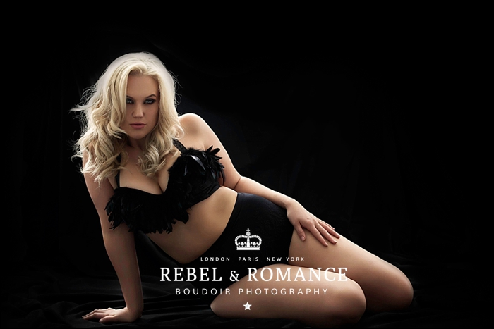 Kate Rebel & Romance London Plus Size Boudoir Photography_0040