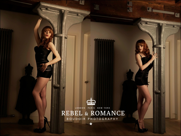 coco de mer tattoo paradise lost boudoir photography london redhead edgy