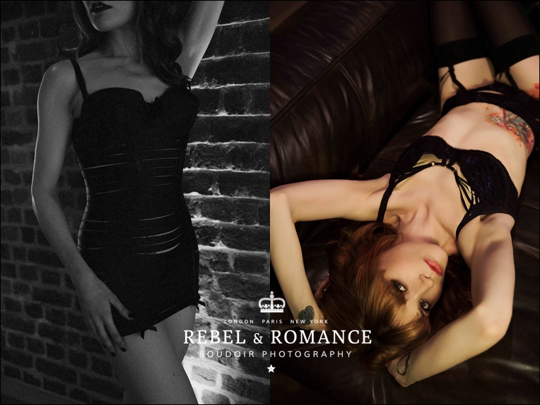 tattoo paradise lost boudoir photography london redhead edgy