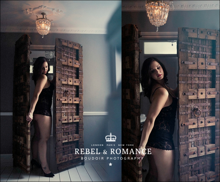 curvy boudoir photography london rebel and romance