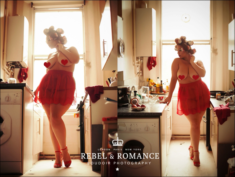 Rebel & Romance London Plus Size Boudoir Photography_0001