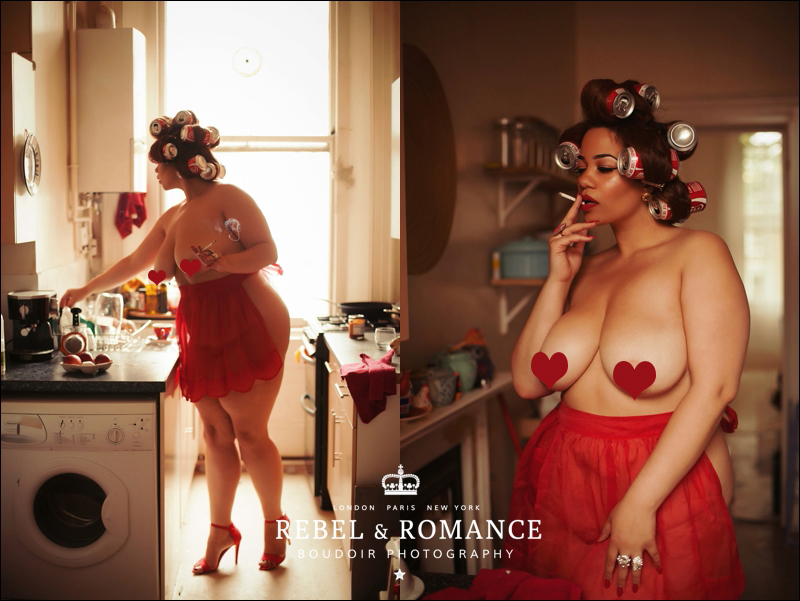 Rebel & Romance London Plus Size Boudoir Photography_0003