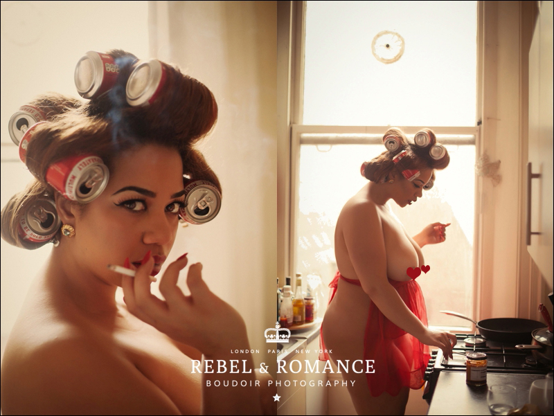 Rebel & Romance London Plus Size Boudoir Photography_0007