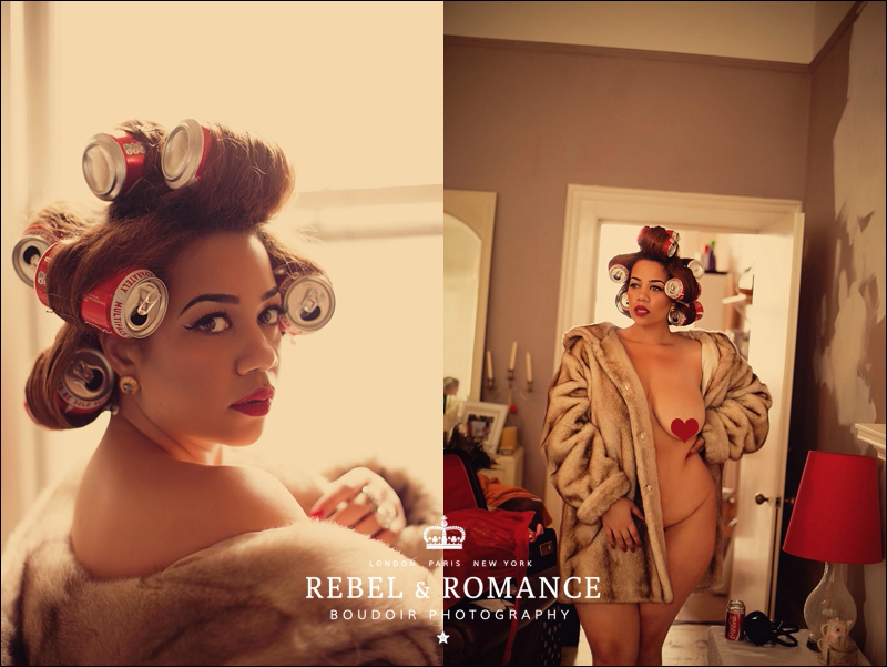 Rebel & Romance London Plus Size Boudoir Photography_0008