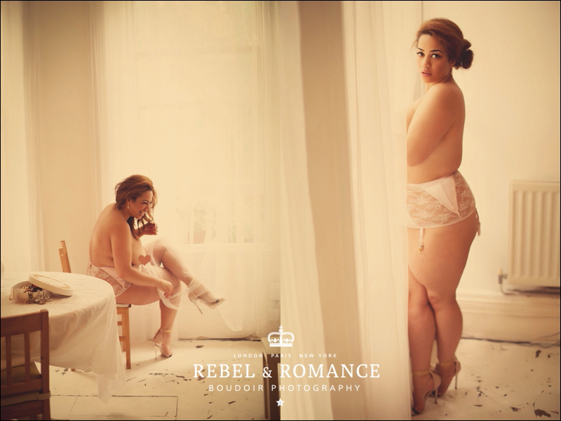 Rebel & Romance London Plus Size Boudoir Photography_0009