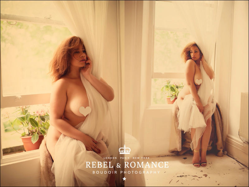 Rebel & Romance London Plus Size Boudoir Photography_0011