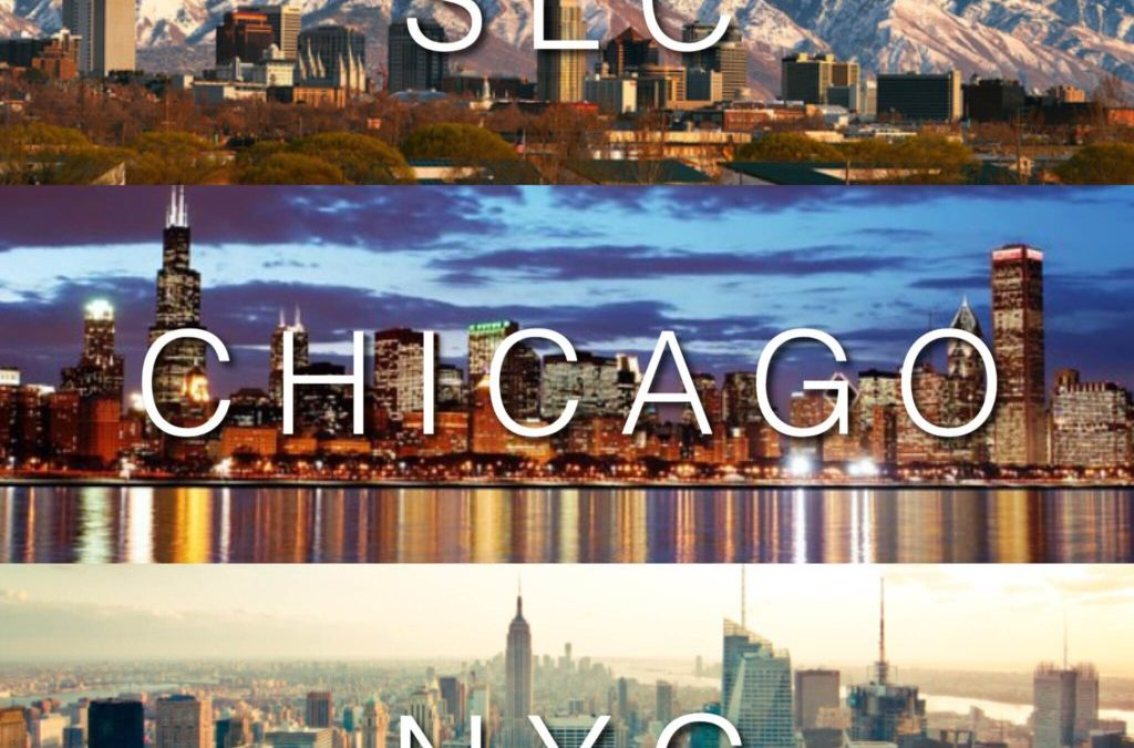 TRAVEL DATES: SLC, CHICAGO, NYC