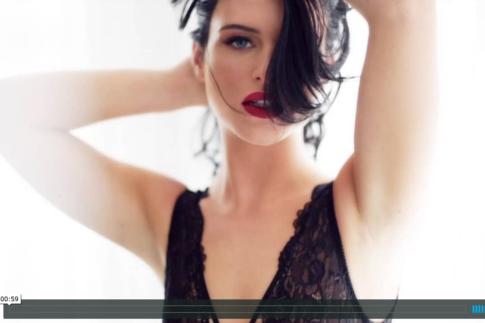 black bodysuit lingerie boudoir video
