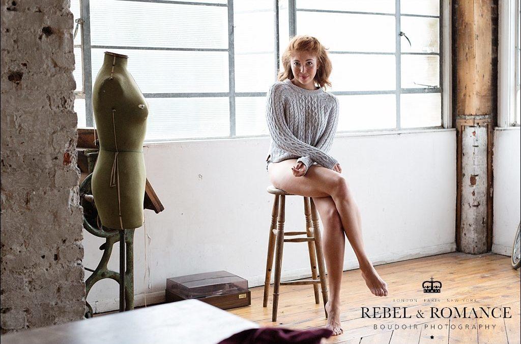 Natasha – a PHOTOSHOP FREE, Aerie inspired lingerie shoot