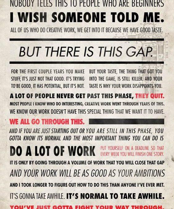 Ira Glass – The Gap