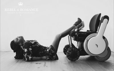 Boudoir with a wheelchair: Efena's #nofear photo shoot in London